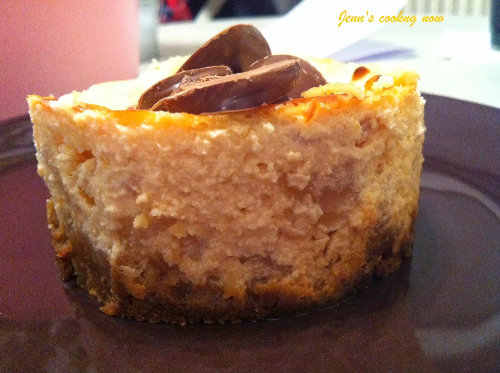 Jenn 39 s cooking mini cheesecakes poire pralin et speculoos - Cheesecake philadelphia fromage blanc ...