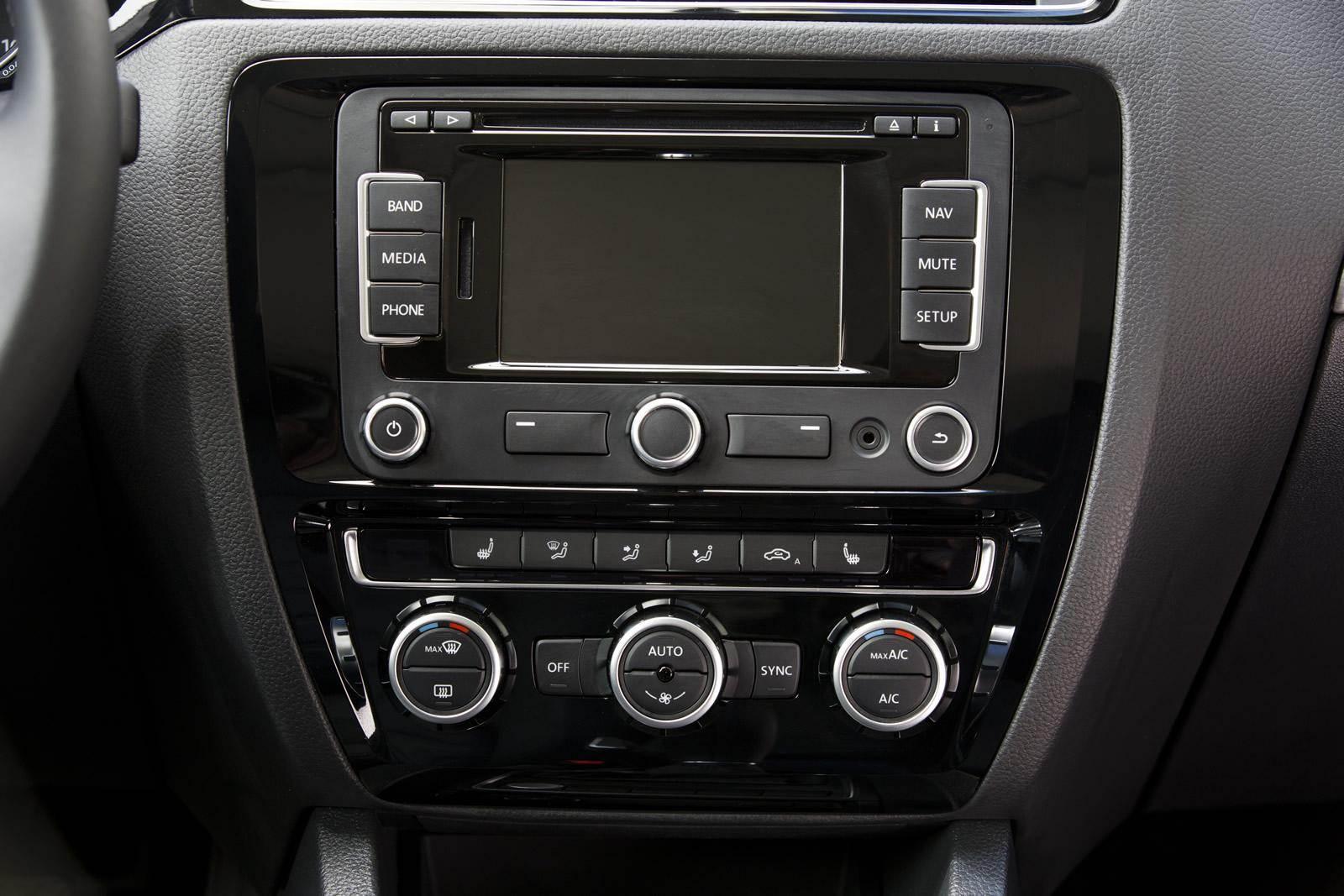 Novo Volkswagen Jetta 2015 - painel
