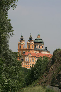 The Monestary, really an Abbey in Melk on the Danube in Austria.