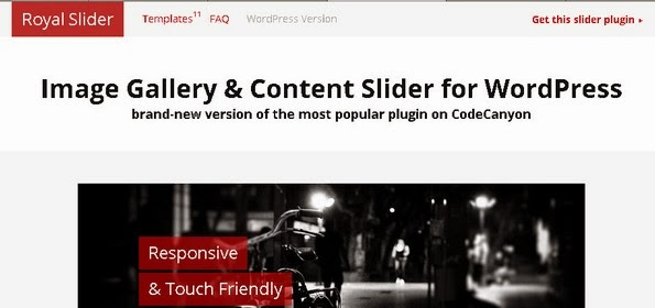 Royal Slider - Responsive slideshow