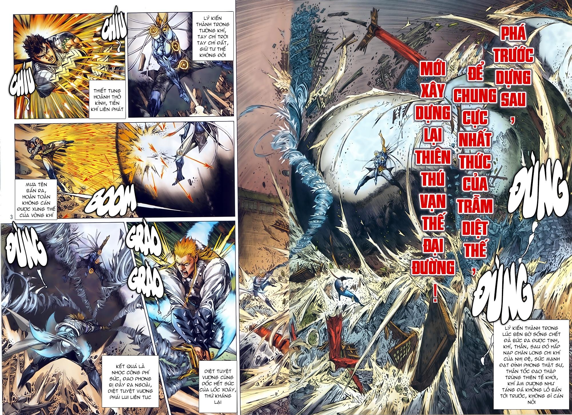 Thiết Tướng Tung Hoành Chap 246