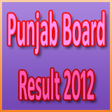 results.pseb.ac.in PSEB Punjab Board 12th intermediate Result 2012