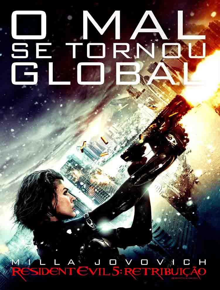 Resident Evil 5: Retribuição Torrent - BluRay 1080p Dual Áudio (2012)