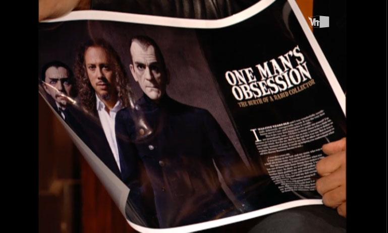Dr. Gangrene's Mad Blog: Kirk Hammett Horror Collection