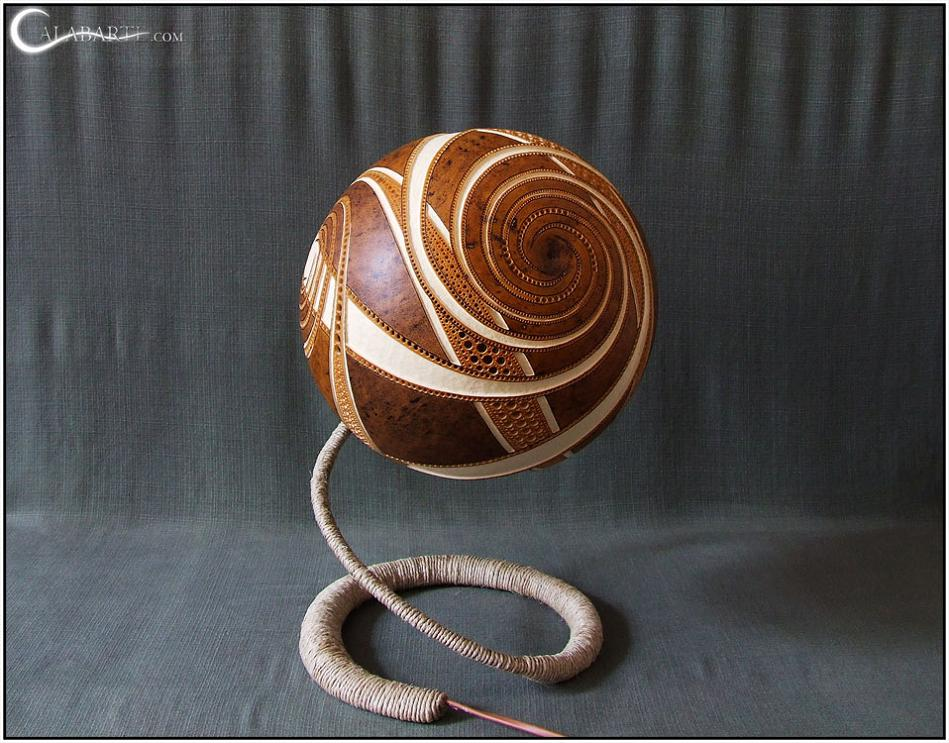 creative and cool gourd lamps