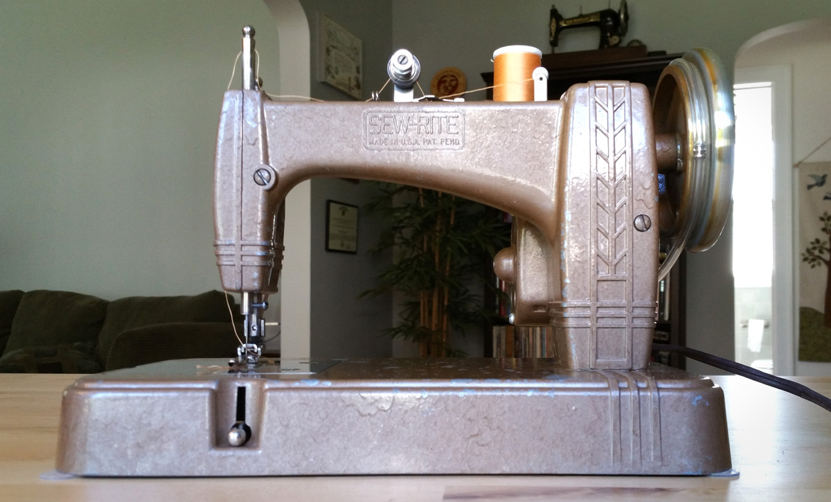 sew rite sewing machine