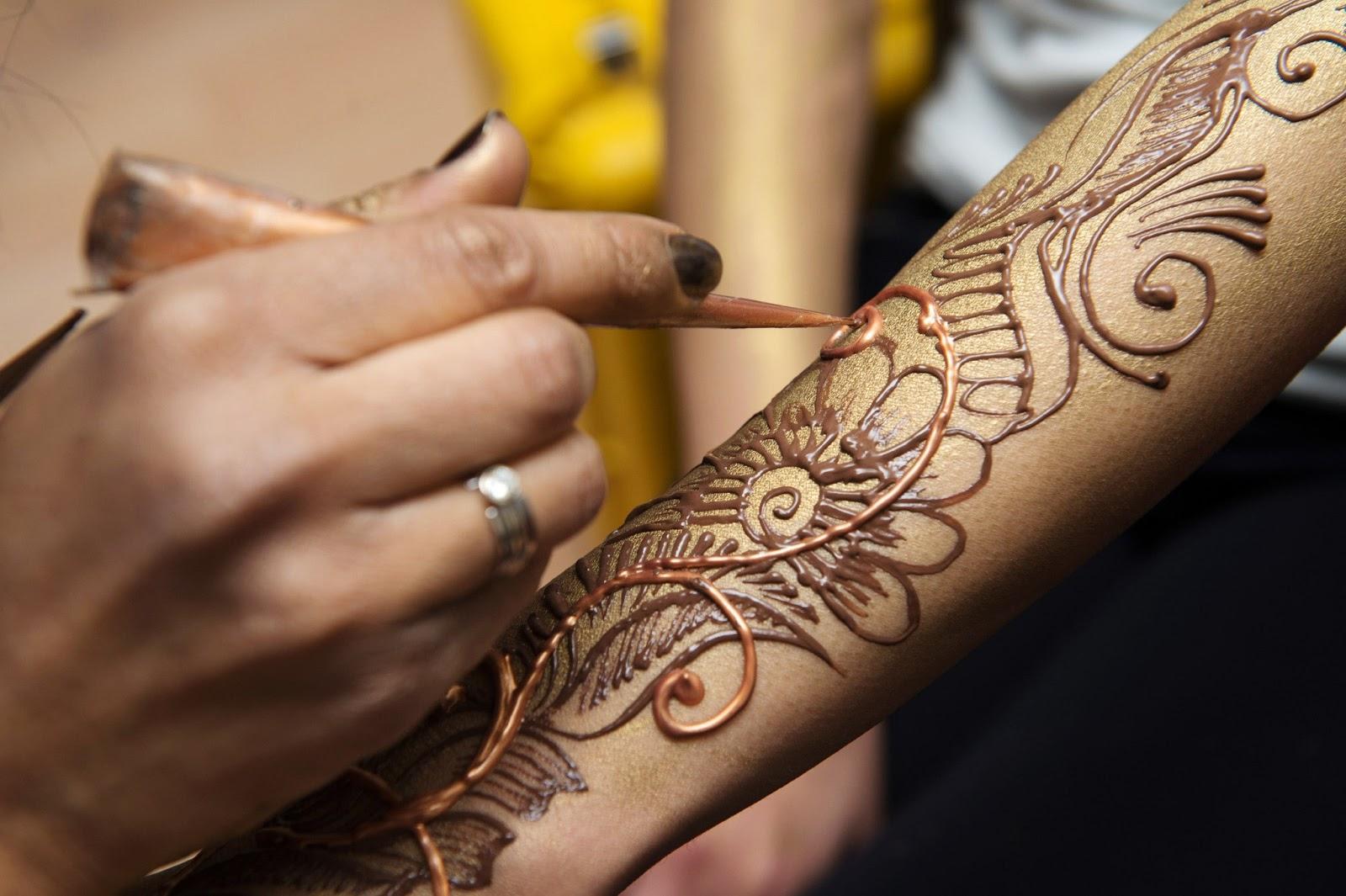 Как сделать временные татуировки в домашних условиях хной 100