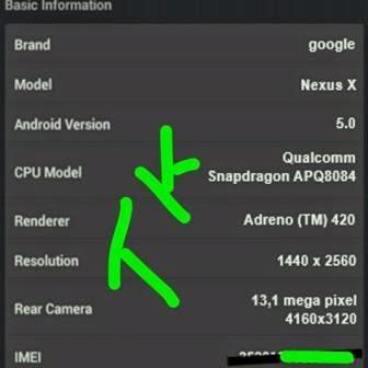 Benchmark Nexus X mengkonfirmasikan bahwa Andoid L adalah v5.0