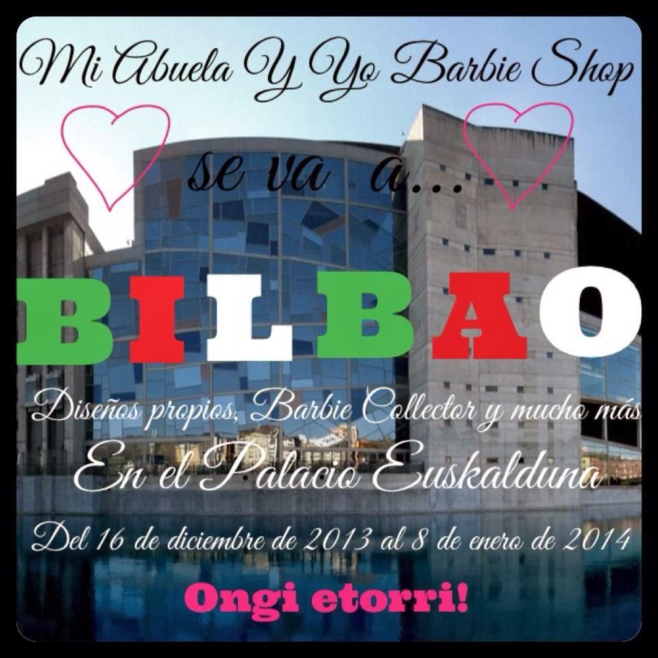 Exposición de Barbie en el Palacio Euskalduna de Bilbao.