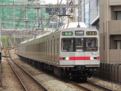 東京メトロ半蔵門線 田園都市線直通 準急 中央林間行き1 8590系