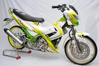 Modifikasi Satria Fu 150 Semi Racing | Blog Motor ID