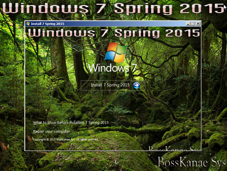 Windows 7 Spring 2015 x64