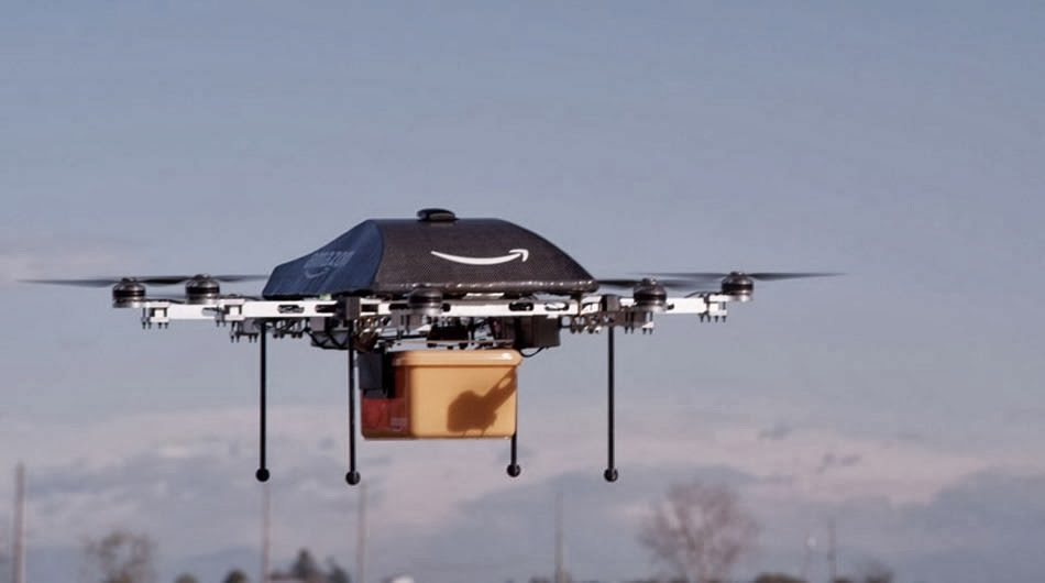 Amazong Delivery Flying Robot Drones