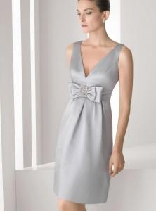 Complementos para vestido fiesta gris perla