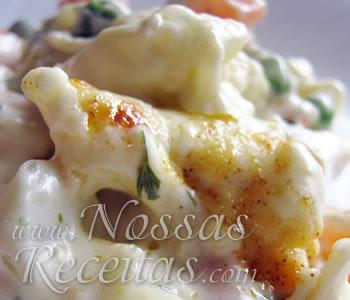 receita deliciosa de legumes gratinados com queijo