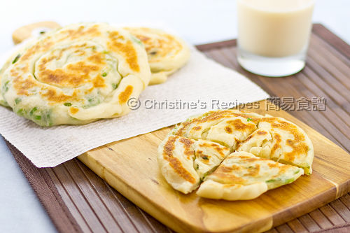 蔥油餅 Scallion Pancakes02