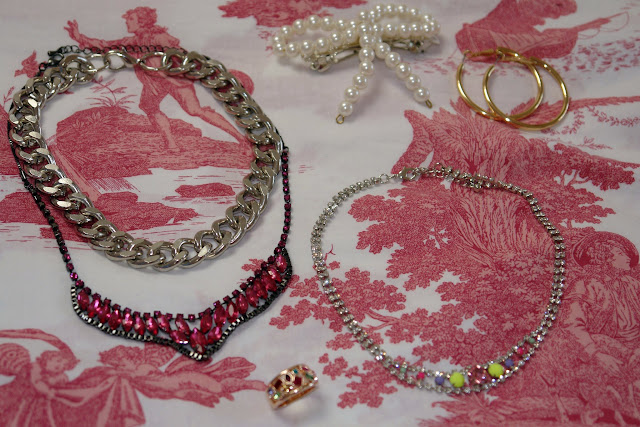 New jewellery from ASOS and eBay new things, jewellery, earrings, rings, necklace, ASOS, eBay, gold,