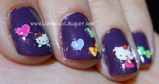Born Pretty Hello Kitty Nail Decals