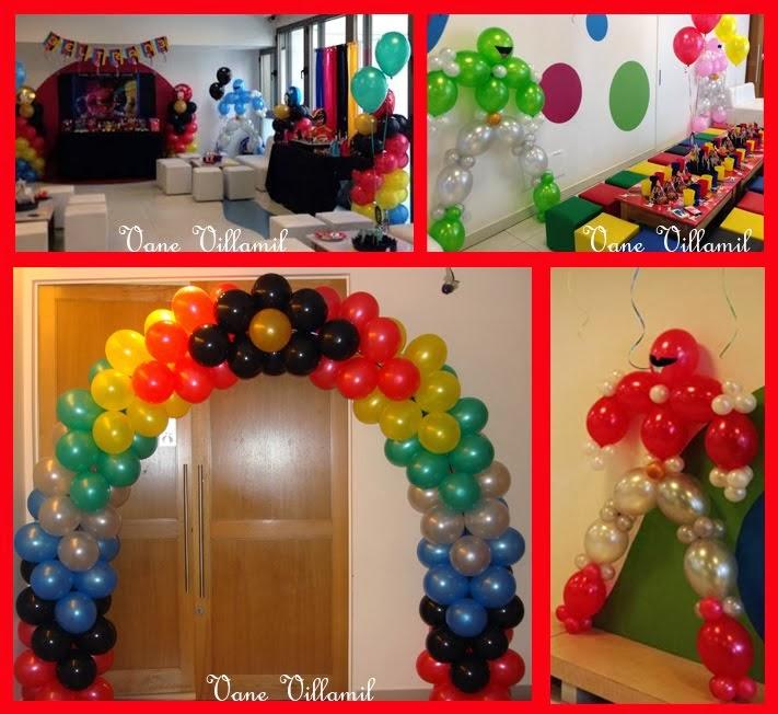 Ambientación con globos
