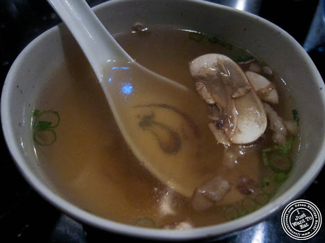 image of soup at Ayame in Hoboken, NJ