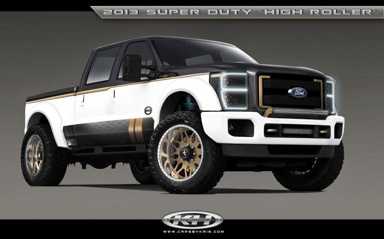 SEMA 2013 Reveals Variety of Customized Ford Trucks