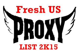 Fresh US Premium Proxy List 2015 | US Proxies