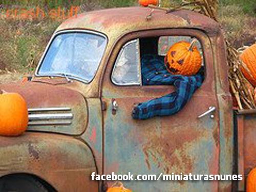 Carros criativos para o Halloween