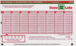 Sorteo 19 de la BonoLoto del lunes 3 de febrero