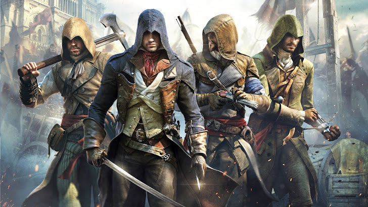 assassin creed unity game art