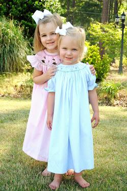 Annabelle & Addie on Easter