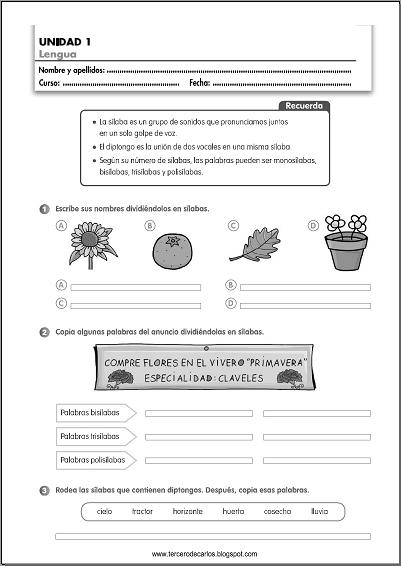 http://www.primerodecarlos.com/TERCERO_PRIMARIA/septiembre/unidad1/fichas/lengua/ficha4.pdf
