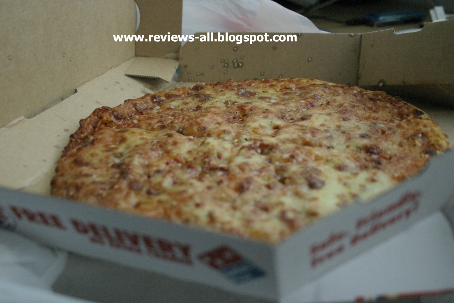 We'll Tell You - A&W Couple's Blog: Domino's Pizza Cheese ...