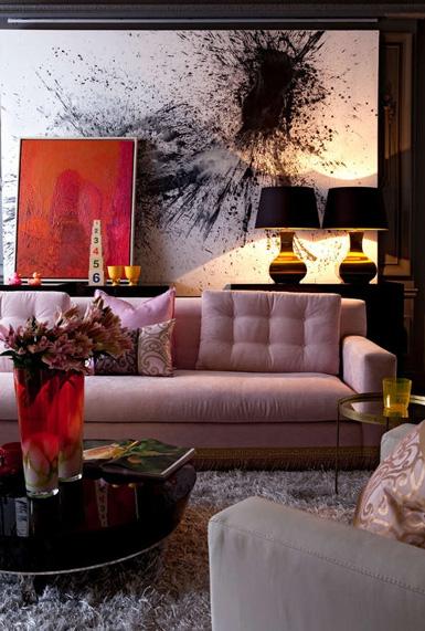 Foto Wohnzimmer Belle Maison