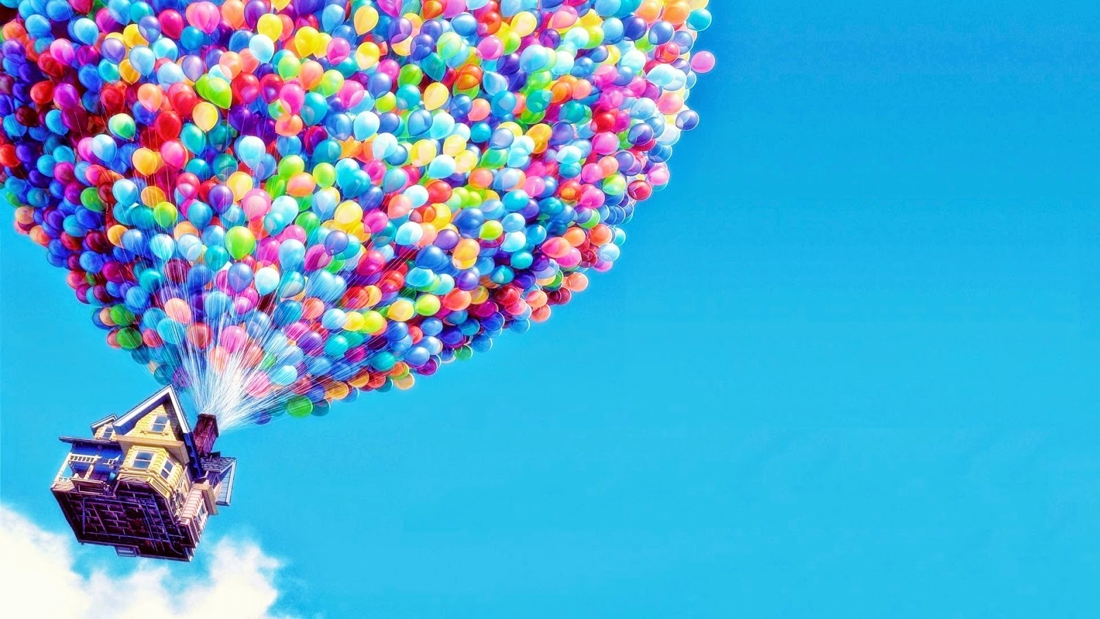 Up House Balloons Thinking Thoughts June 2014