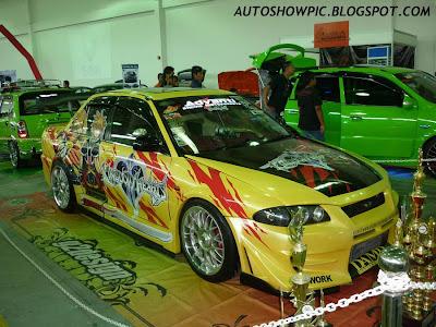 痛車 Itasha Wira Autoshow