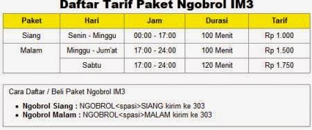 Paket IM3 Ngobrol
