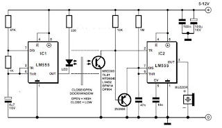 On After Delay With Mosfet in addition S also Showroom A Da Df F E B as well Circuit Door Alarm furthermore Resistor Voltage Divider. on simple dc timer using mosfet onoff