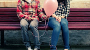 clever awesome love quotes cute couple on the bench baloon in hert cute love romantic love love images love www