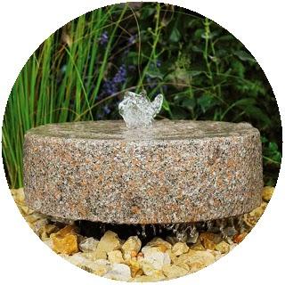 Missjardin fuentes de jard n y su dise o - Fuente de pared para jardin ...