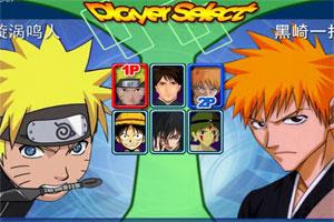 Anime Fighting Jam Wing Is A Wonderful Flash Game Contains Five Hot Animation Stars And One Original Character Of