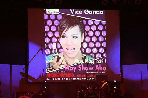 Vice Ganda Concert at Island Cove, Cavite April 24, 2010