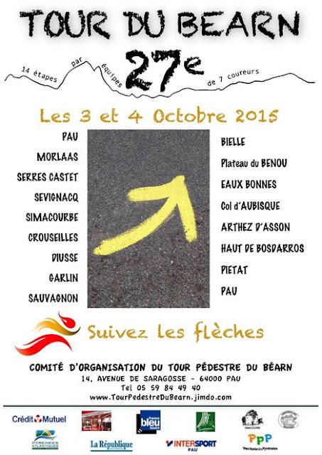 Tour pédestre du Béarn 2015