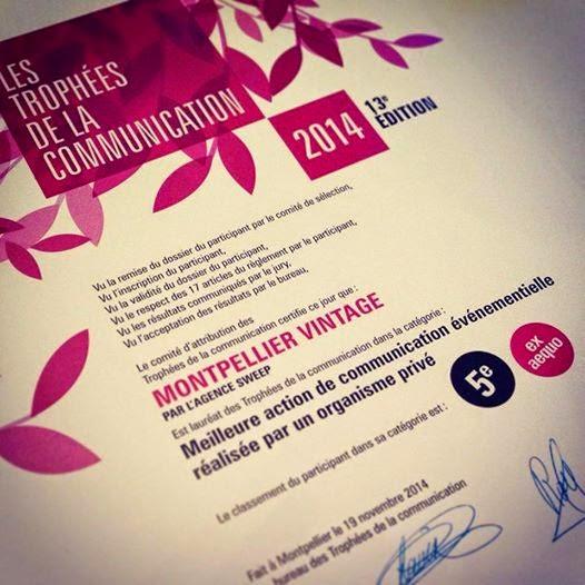 trophées de la communication 2014