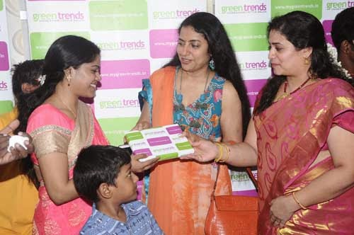 Celebs at Green Trends Hair And Style Salon Launch Event