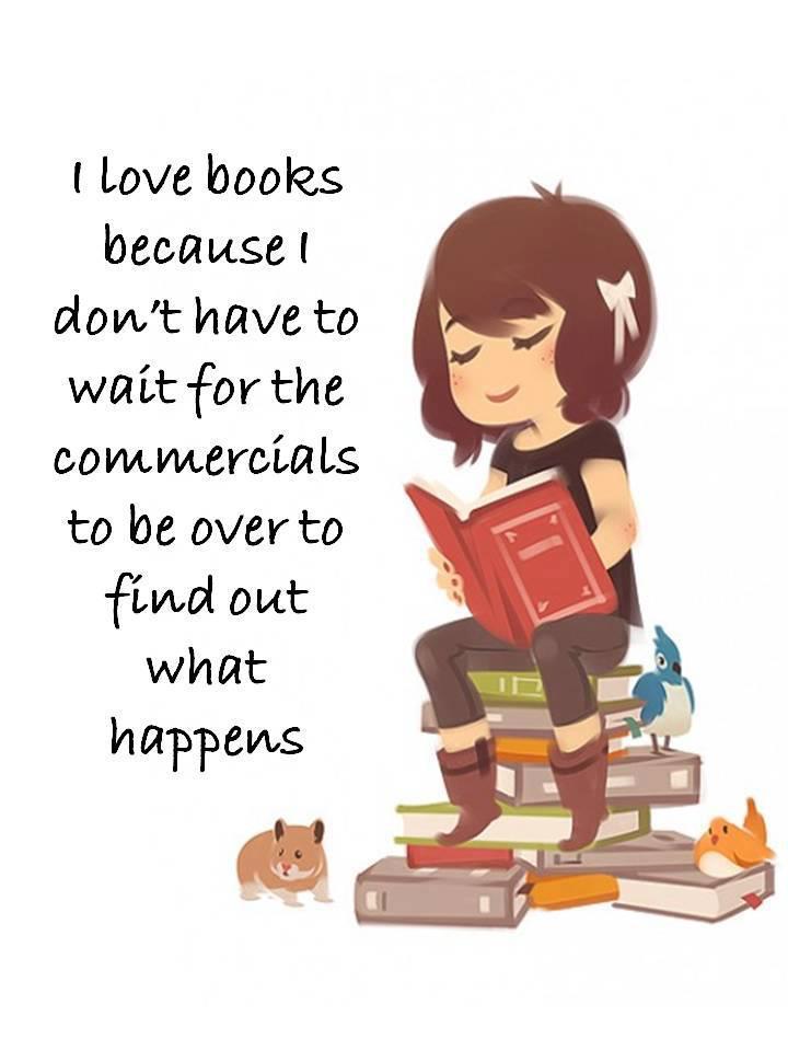Miluji knihy...