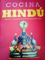 Portada del recetario Cocina Hindú