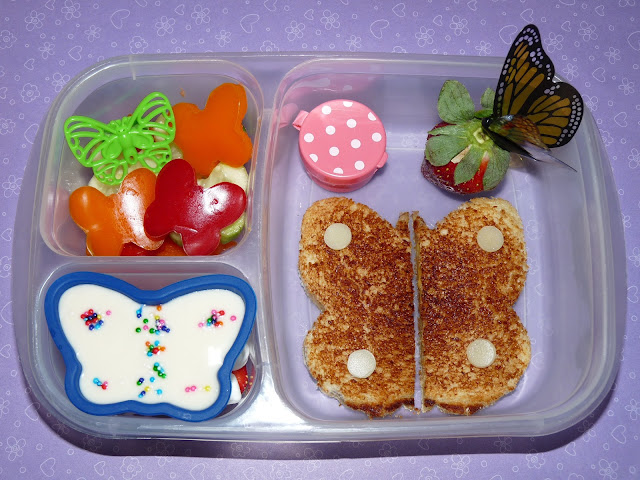butterfly easylunchboxes bento