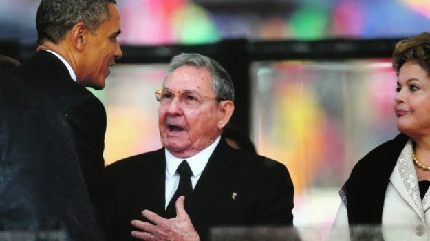 Obama, Raul e Dilma