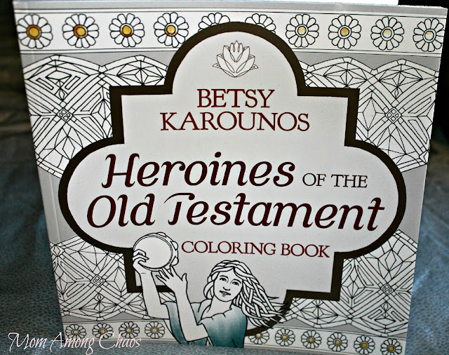 Heroines of the New Testament, review, coloring book, bible, meditation, relaxation, giveaway, review