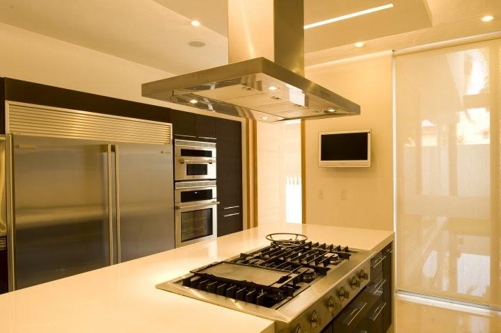 Decoraci n minimalista y contempor nea lujosa cocina for Decoracion minimalista y contemporanea